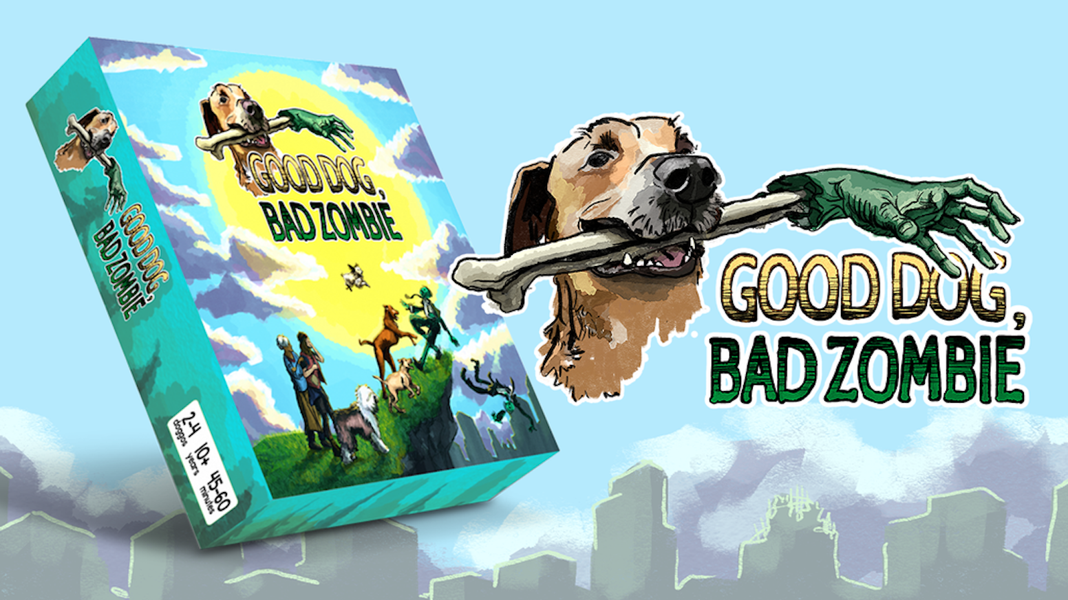Bark, sniff, and lick your way through the apocalypse to save the hoomans you love!