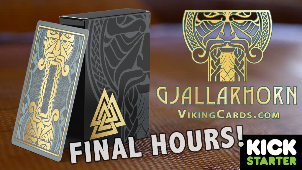 Gjallarhorn: A Viking Playing Card Poker Deck project video thumbnail