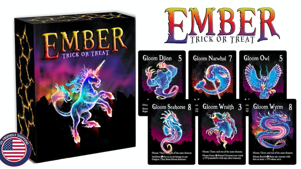 Ember: Trick or Treat - an Expansion + Wood Deck Boxes project video thumbnail