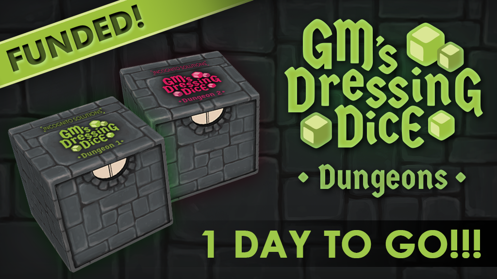 GM's DRESSING DICE - Dungeons project video thumbnail