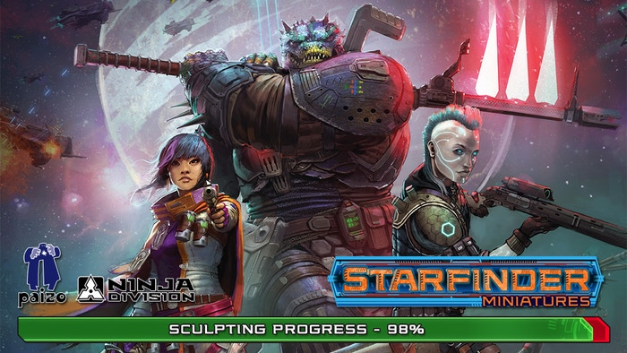 Starfinder Masterclass Miniatures offers premium-quality miniatures for the Starfinder science-fantasy tabletop roleplaying game.