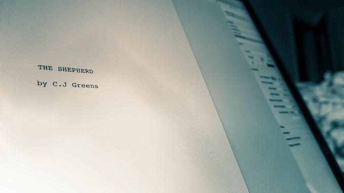 Writing of 'The Shepherd' is under way