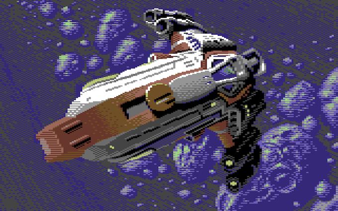 Jon Eggleton's Galencia Fighter Bitmap W.I.P.