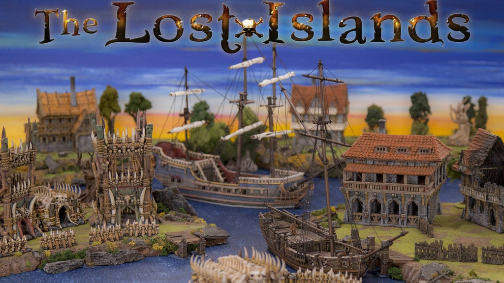 The Lost Islands - 3D printable Terrain for RPG and Wargames project video thumbnail