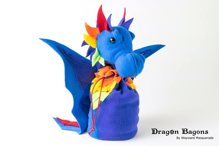 A rare Rainbow Dragon Bagon