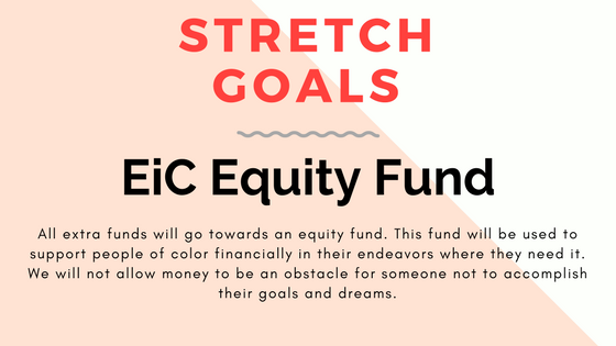 Stretch goals: Empowered in Color Equity Fund