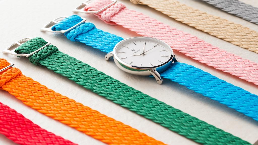 Avgeli - Reinventing Minimalist Watches Through Colour