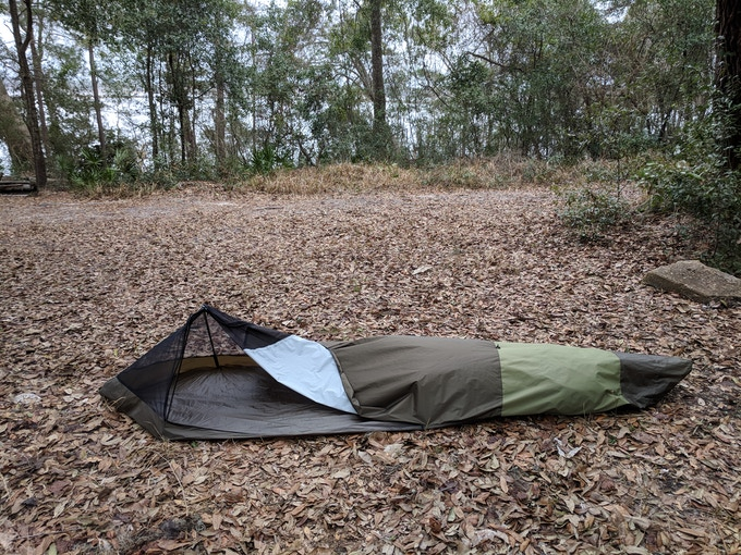 BivyPack - The backpack that transforms into a bivy tent ...