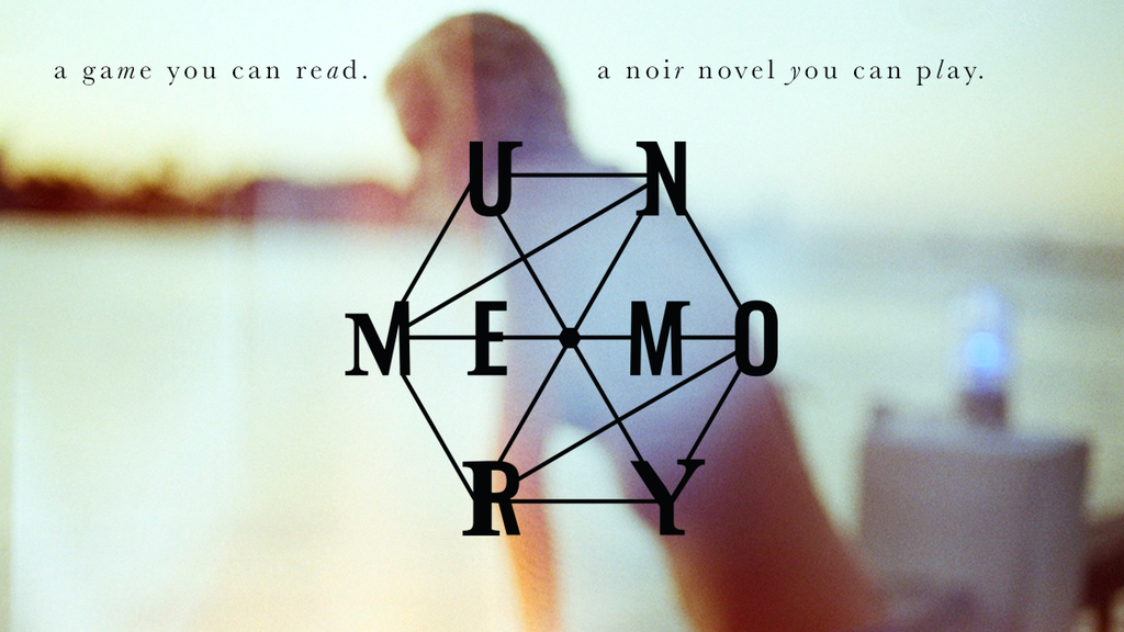 unmemory. an interactive escape book game. project video thumbnail