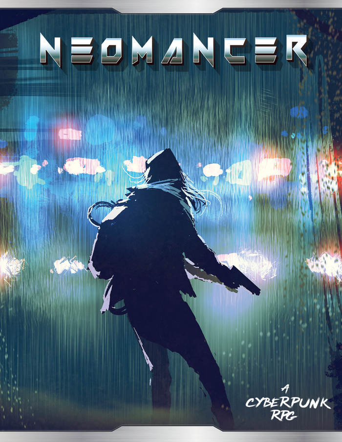 Neomancer is a modern approach to Cyberpunk, where gamers can live, fight and die in the sprawls of a new retro dystopia.