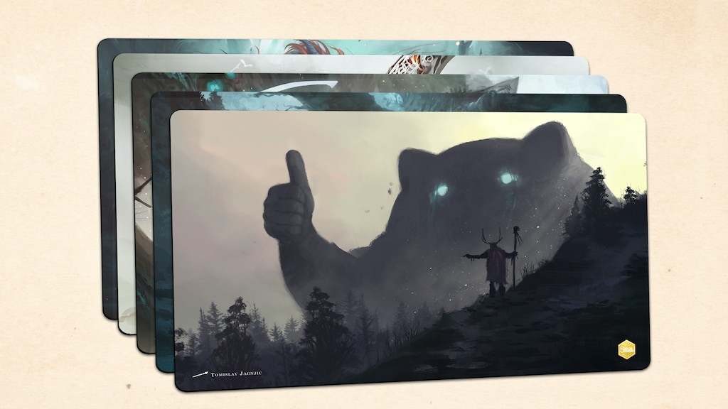 5 Color Combo - Collector Gaming Playmats project video thumbnail