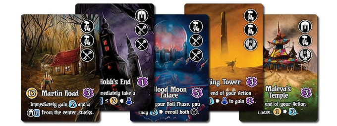 20 New Domain Cards