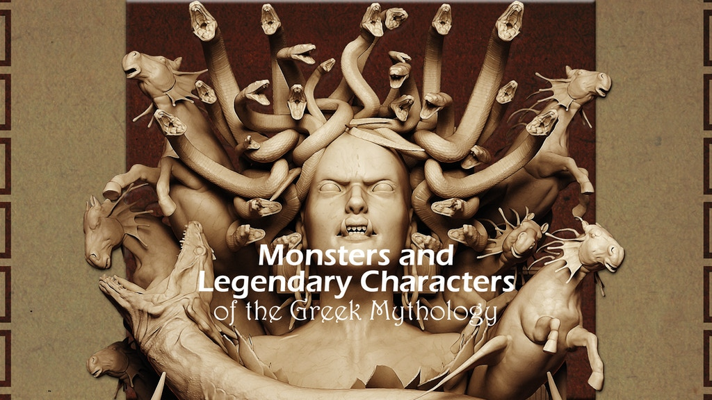 Monsters and Legendary Characters of the Greek Mythology project video thumbnail
