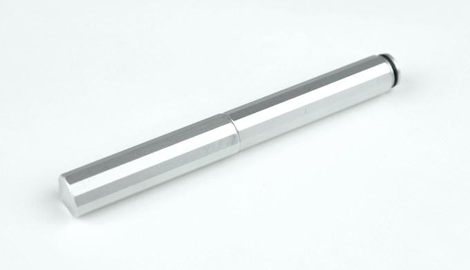 XS silver aluminum - closed