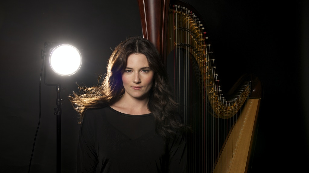 Electroacoustic Harp & Vocal Debut Album by Katherine Redlus project video thumbnail