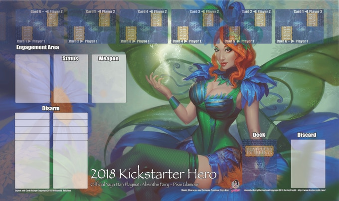 This playmat is an approved and official limited run!