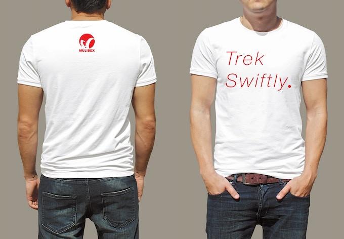 Graphic T - Trek Swiftly + Logo