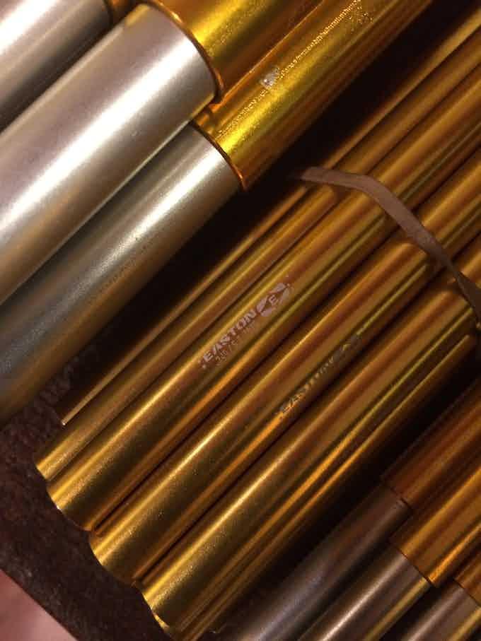 Easton - 7075 T6 Anodized Aluminum Tubes