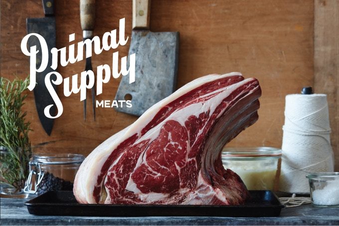 Primal Supply Meats Butcher Shop by Heather Marold Thomason