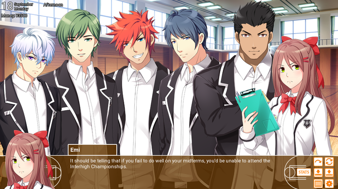 Adult dating sim visual roman