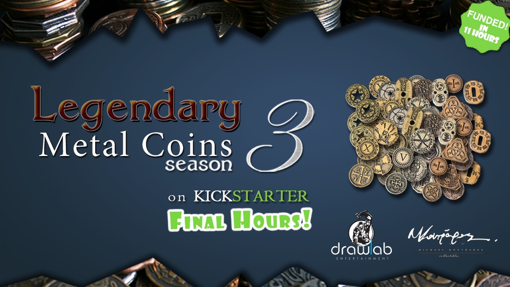 Legendary Metal Coins Season 3 -Final Minutes project video thumbnail