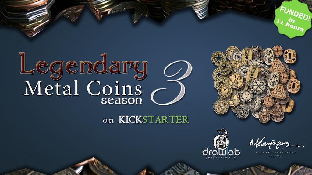 Legendary Metal Coins Season 3
