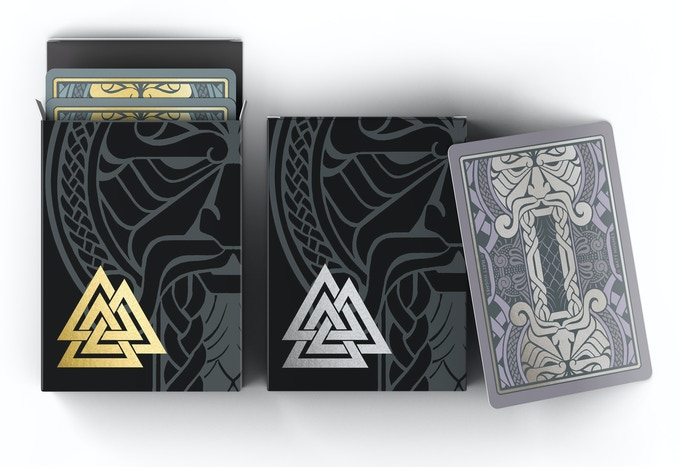 Gold and Silver Editions with unique card back designs.
