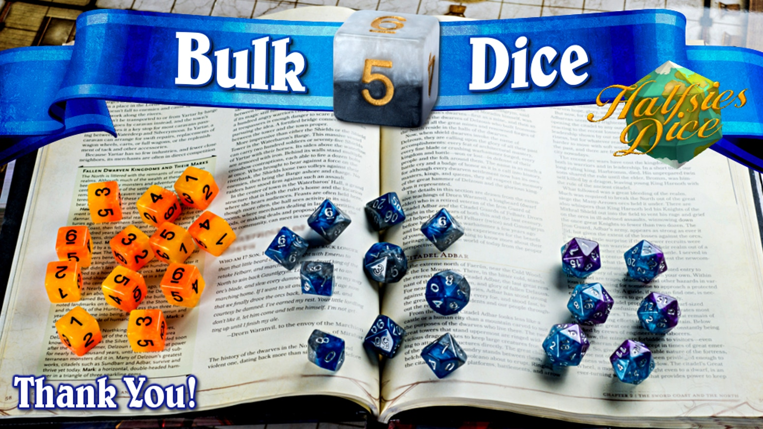 Kickstarter's first ever 'Bulk Dice' campaign.  Find us at www.gatekeepergaming.com after the campaign to get yours.