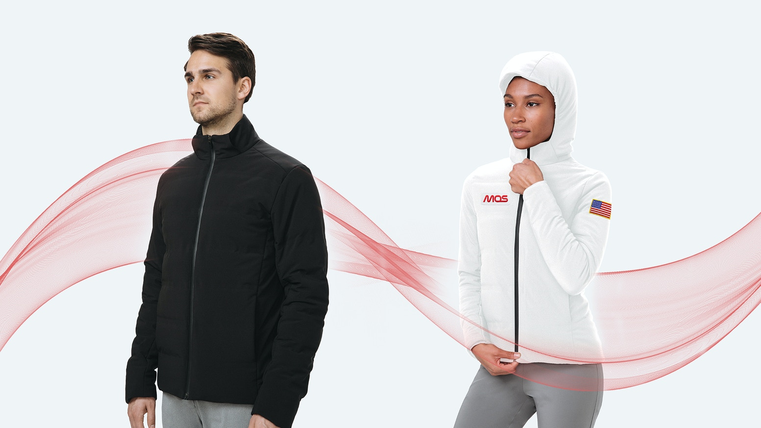 A functional, beautiful, everything-proof, voice-controlled jacket that learns and automatically heats to your optimal temperature.