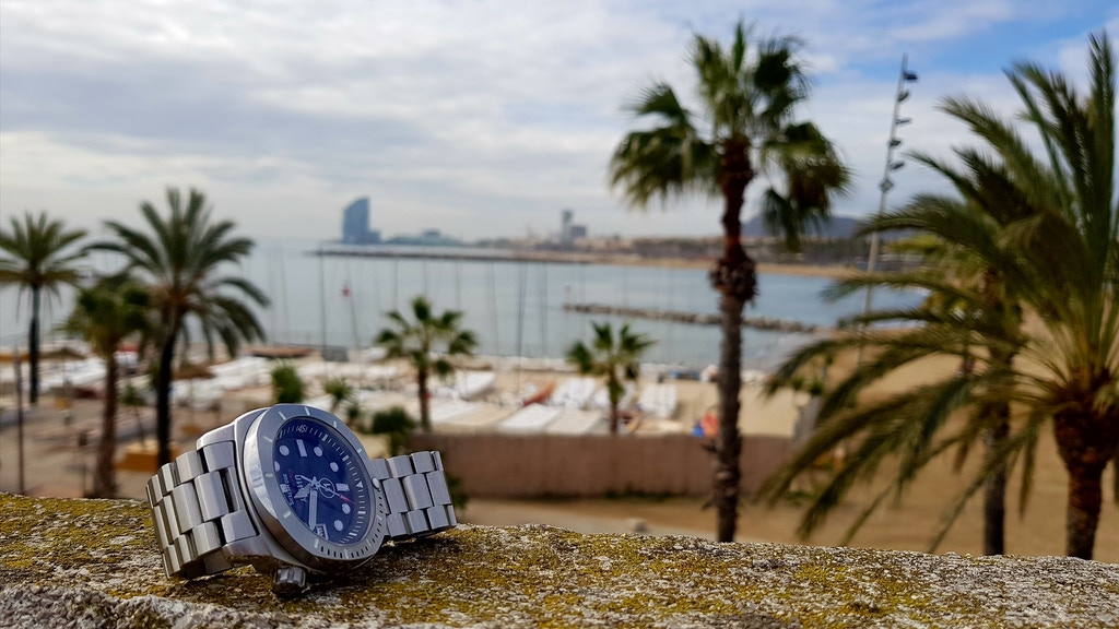 """Project image for Dive watch """"Black Pearl"""": a piece of Barcelona on your wrist"""