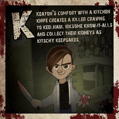 My son, Keaton