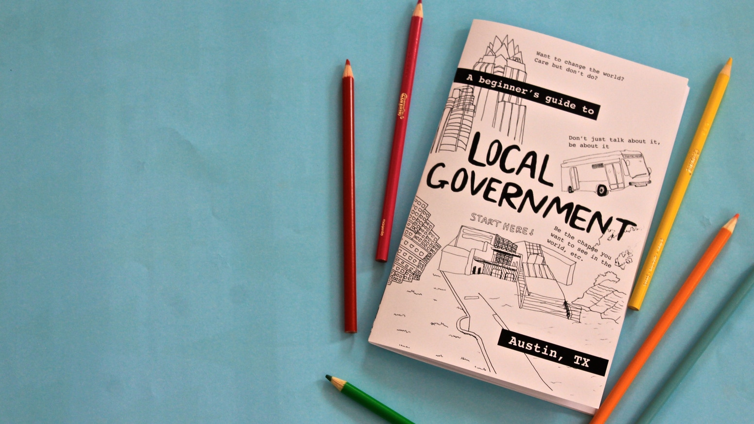 We're building a movement to create a more functional democracy by teaching millennials how to get involved in local government. Missed the Kickstarter and still want a book of your own? Click the button below.