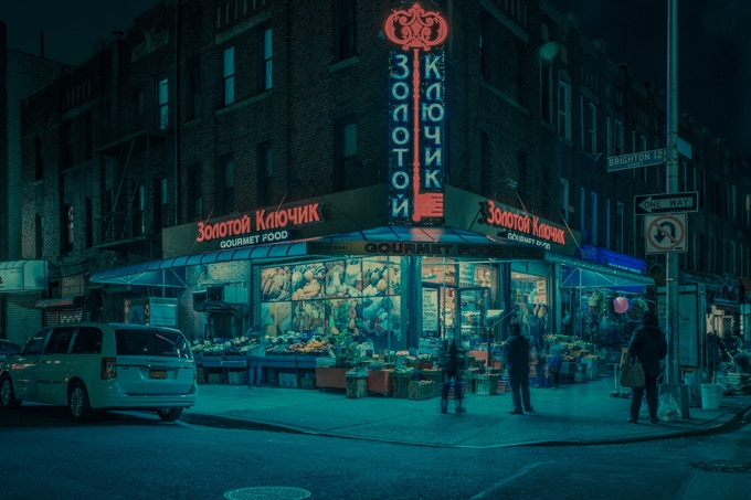 Little Odessa series featuring Brighton Beach by photographer Franck Bohbot