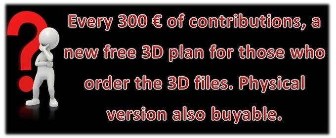 3D files free when goal reach !