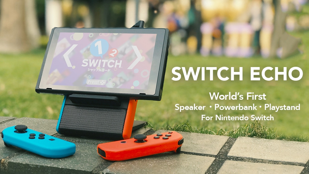 SwitchEcho: A Powerful Nintendo Switch Speaker Battery Stand project video thumbnail