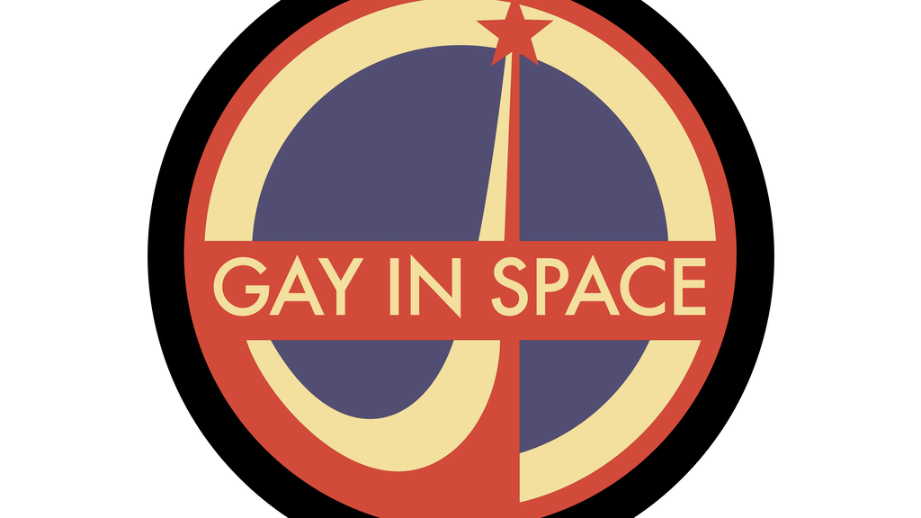 Gay In Space enamel pins. project video thumbnail