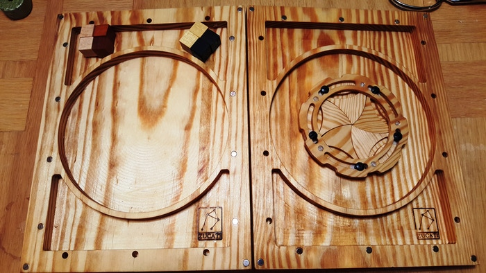 Portal Panel and Mirror Pool. A very sturdy set.