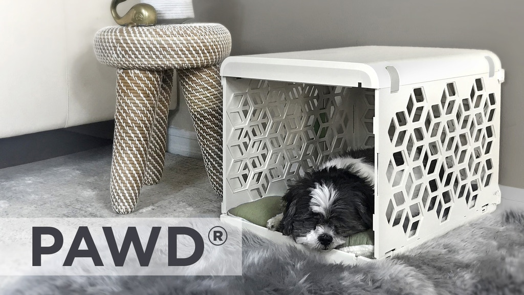 PAWD - Pet Space Reinvented (Dog Crate) project video thumbnail