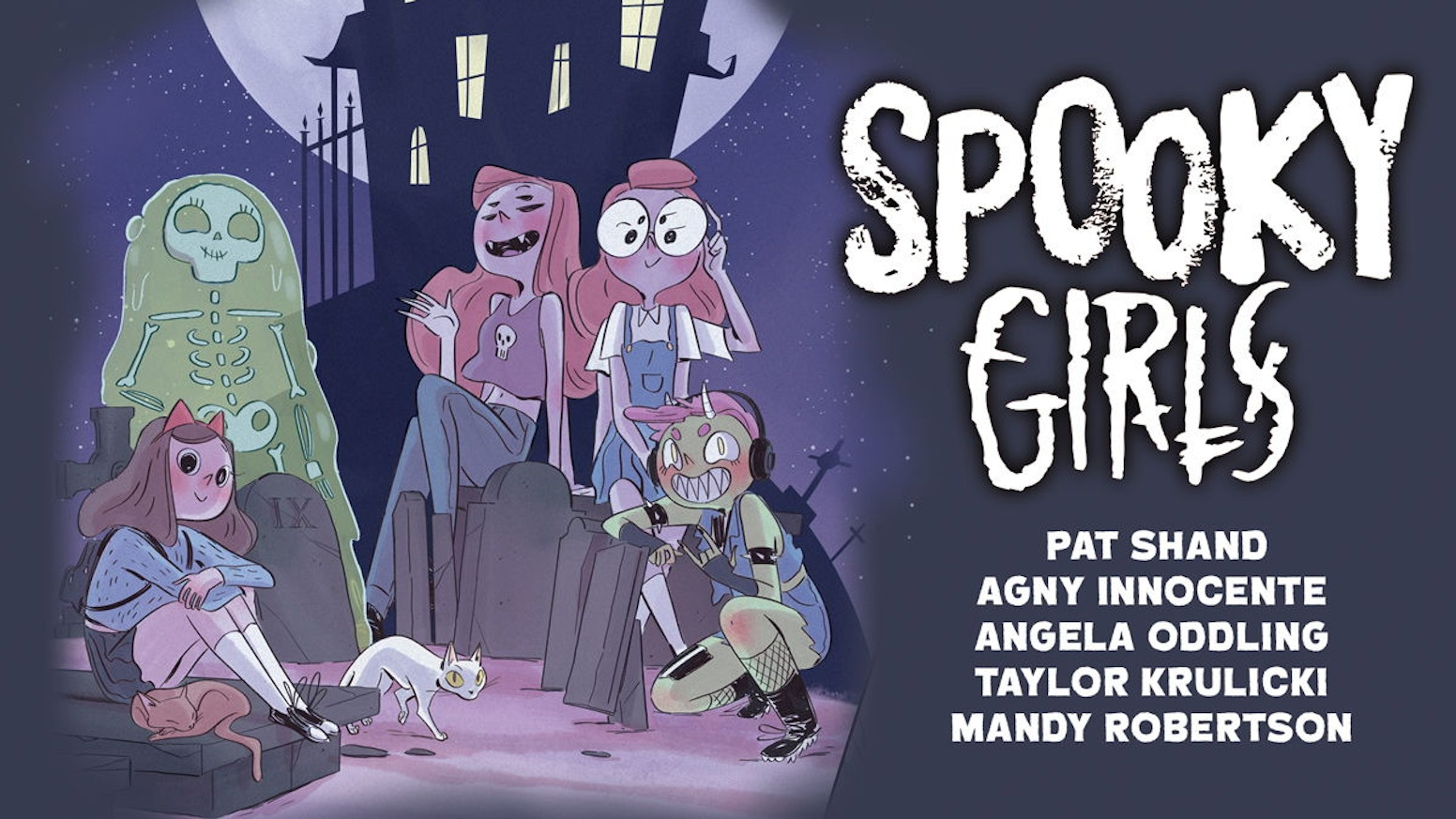 Spooky Girls 4 Spooky Artists 4 Spooky Comics 1 Book By Space