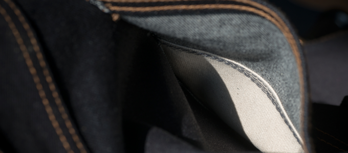 back pocket reinforcement - 8 oz natural cotton twill