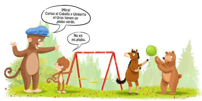 Extract from Spanish language version of Book 1