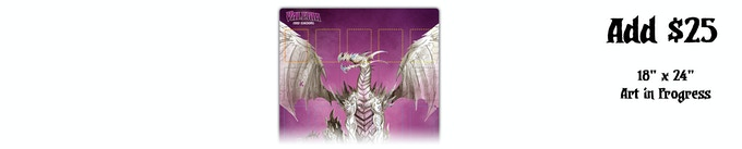 Add an additional $25 to receive the new playmat.
