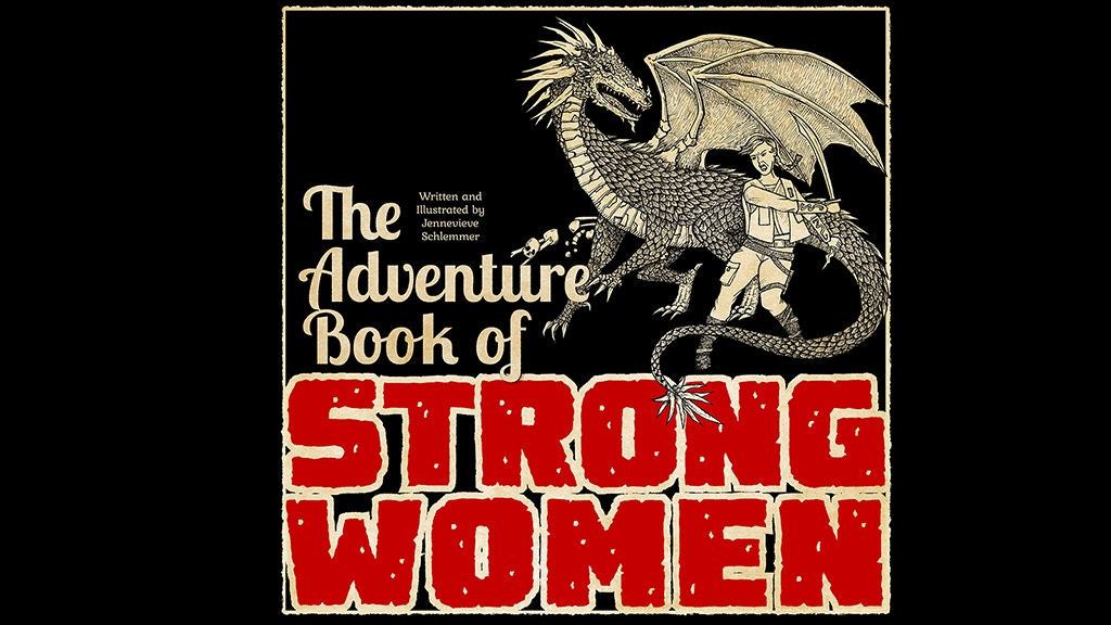 The Adventure Book of Strong Women project video thumbnail