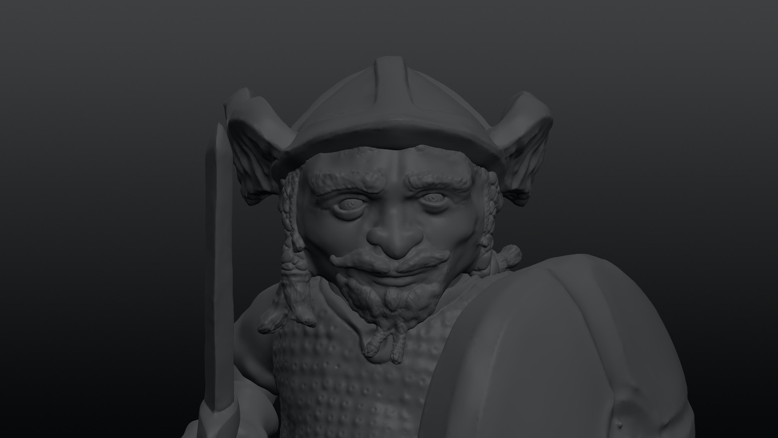 A simple walk-through showing you how to create your own dwarf models for 3D printing using the free software package Sculptris.