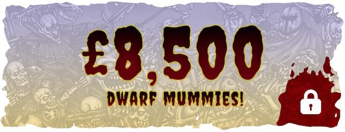 4 Resin Dwarven Mummies Add On