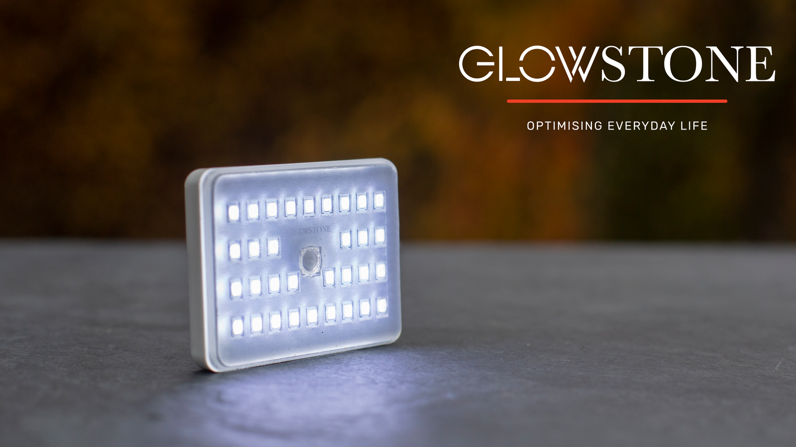 900 lumens, 8 modes, 10 accessories make Glowstone the most adaptable and brightest light. It's smaller than a credit card and less than 1/2 inch thick.