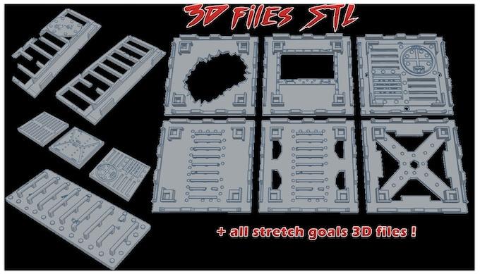 3d files set + all stretch goals !