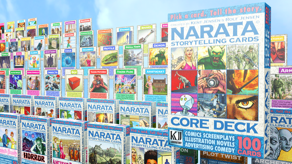 Narata Storytelling Cards RELAUNCH - Brainstorm Your Story project video thumbnail