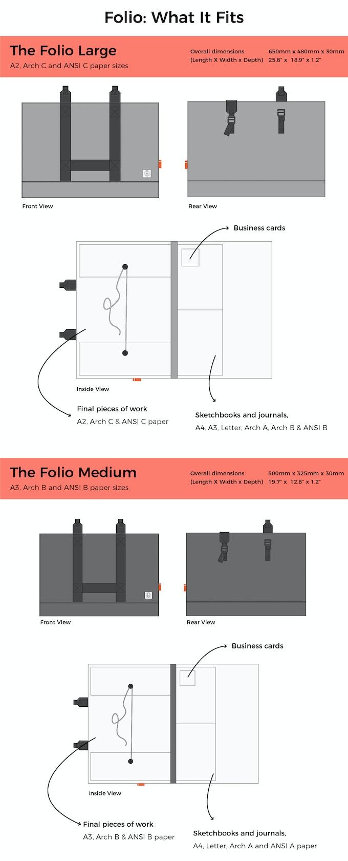 Newport Works - The Studio Bag & Folio Combo by Song Eng — Kickstarter