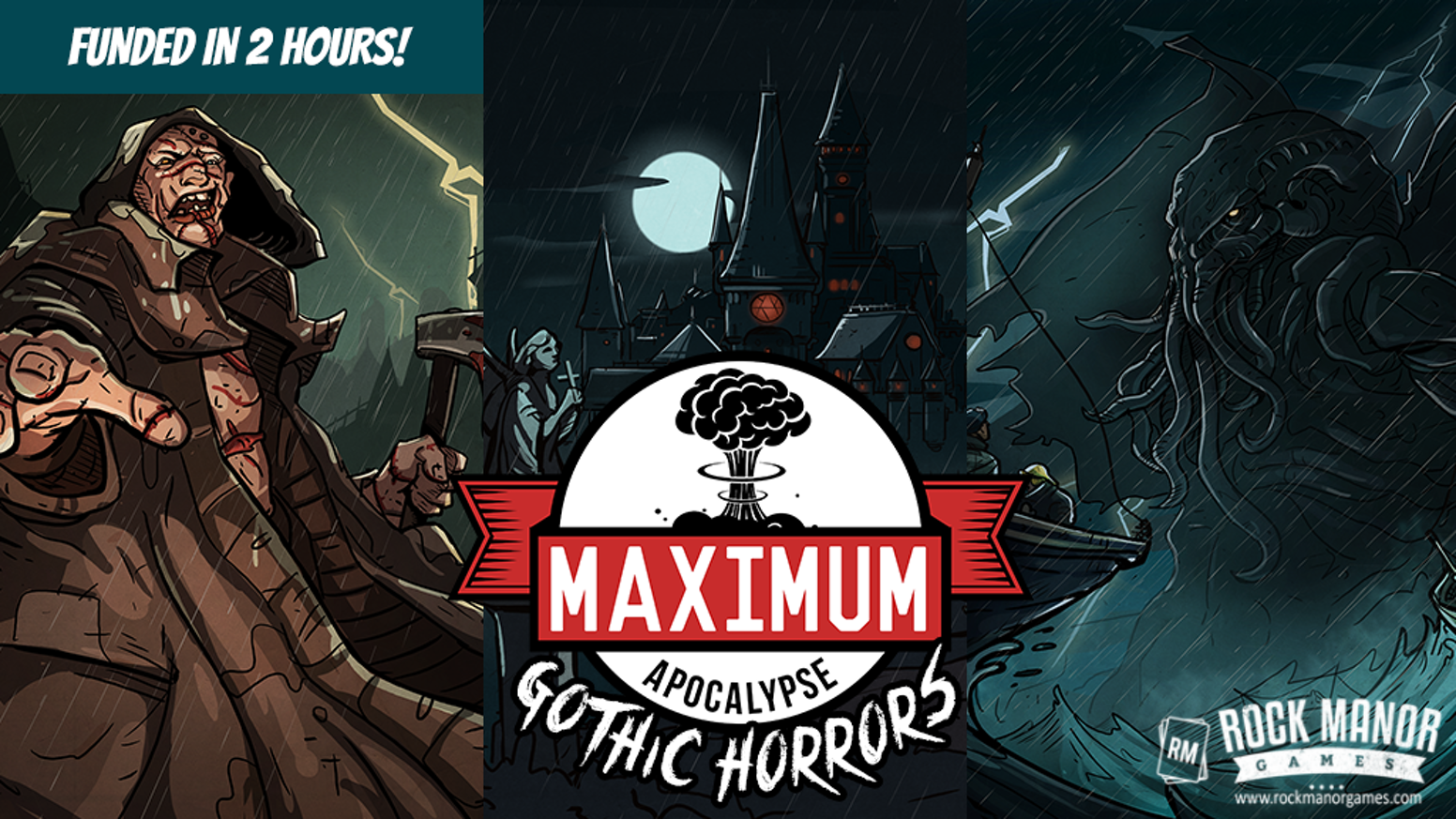 Survivors must explore, scavenge and kill to survive this deluxe expansion featuring New Character Classes and monsters!
